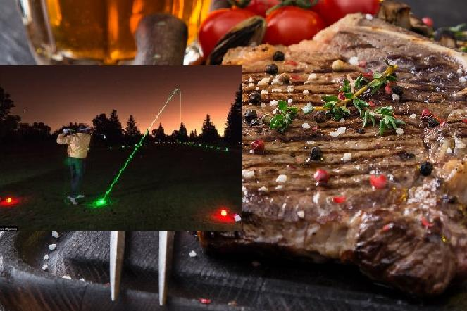 Golf by Night Steak